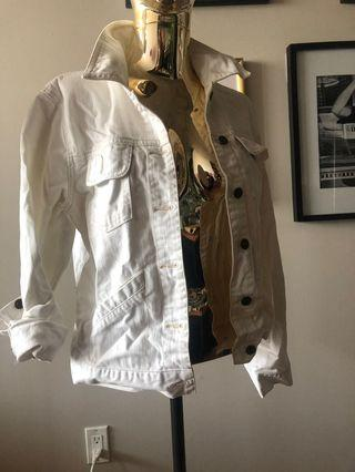 Roots denim jacket small