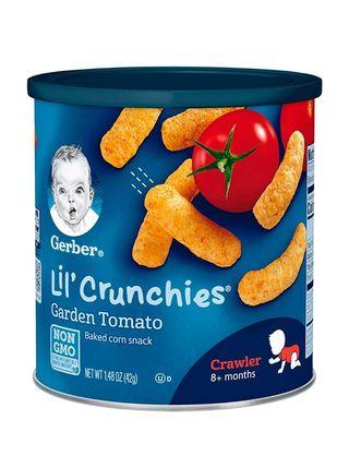 🚚 Gerber Lil Crunchies - Tomato / Cheese / Veggie Dip