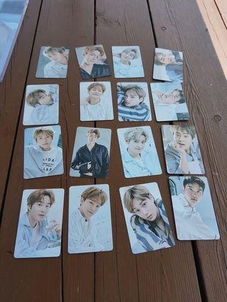 Exo Flo photocards set