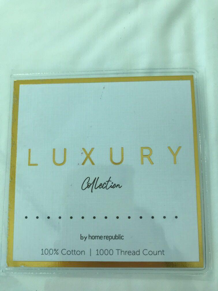 1000 thread count single bedroom set Luxury Collection