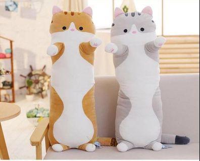 [BNIP] 70/90cm Cat Soft Toy Bolster