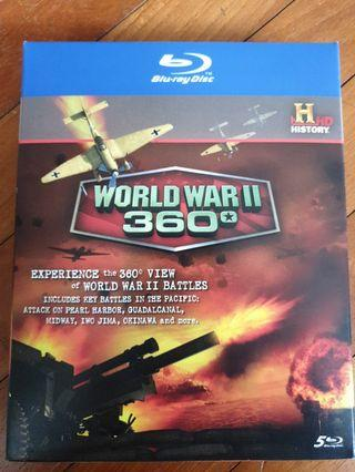 World War II 360 Blu Ray
