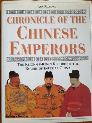 🚚 Chronicle of The Chinese Emperors