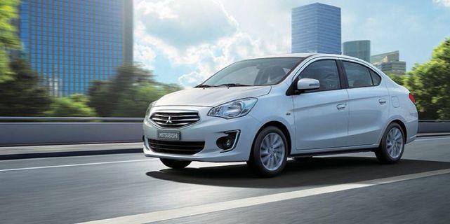 Brand new Mitsubishi attrage for Long term rental