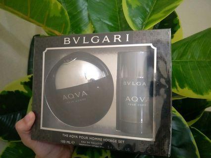 Bvlgari Aqva Pour Homme Edt Gift Set