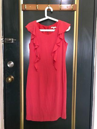 GERAD DAREL紅色小洋裝