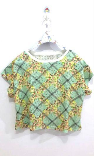 Green Soft Blouse
