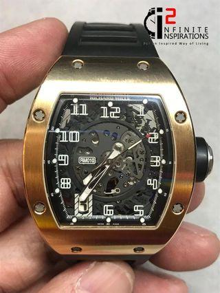 Richard Mille RM 10 – Preloved Complete Set with  Box and Papers.