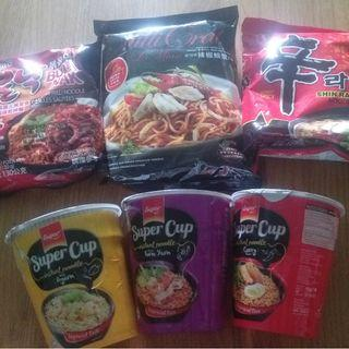 EXPIRED various instant noodle (for free)