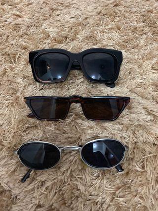 sunglasses (3 pcs)