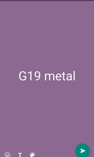 Metal g19