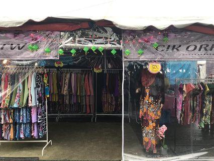 Perniagaan Baju Kurung Untuk Dilepaskan