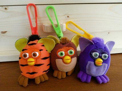 麥當勞玩具2001 Furby菲比小精靈