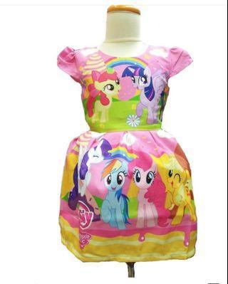 Cute Pink Little Pony Dress