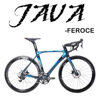 JAVA FEROCE 2019 road  - Full carbon frameset,SHIMANO 105 R7000 groupset,22 speed, Aero WHEELSET with dics break, most attractive design so far.