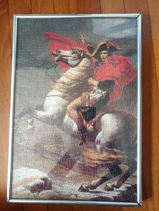 Napoleon Jigsaw Puzzle with Frame