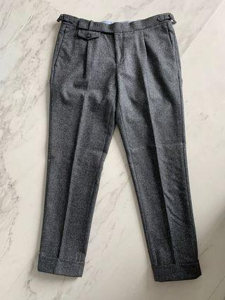 Suitsupply flannel pants