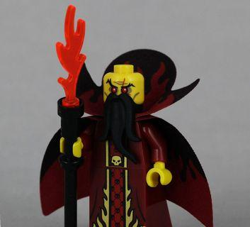 Lego 71008 Series 13 Minifigs Evil Wizard 邪惡巫師 連底板 說明書 包裝袋 (全新開袋確認)