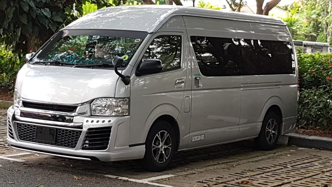 13 seater minibus for charter