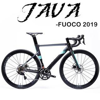 JAVA FUOCO 2019 - SHIMANO105 Groupset, Carbon fork, Aero Wheelset , Dics breakset, SHIMANO R7000 22 speed .