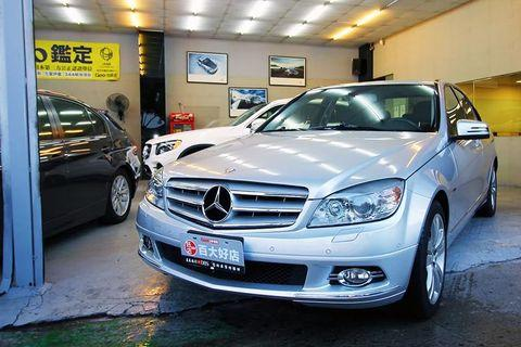2010年BENZ C300 銀色 3.0L