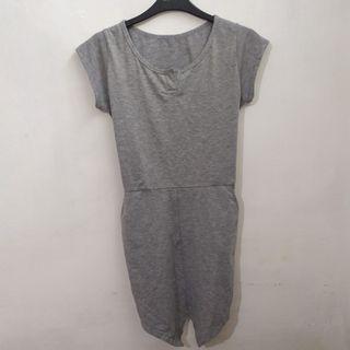 Grey Jumpsuit (no barter titipan)