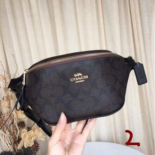 INSTOCK!! AUTHENTIC COACH WAIST BAG