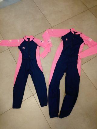 兒童防曬連身泳衣