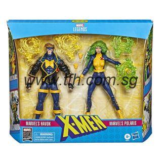 [PRE ORDER] Marvel Legends Series - X-Men - Marvel's Havok & Polaris