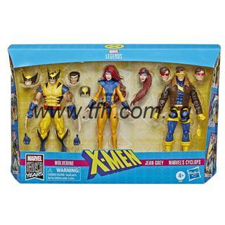 [PRE ORDER] Marvel Legends Series - X-Men - Wolverine, Jean Grey & Marvel's Cyclops