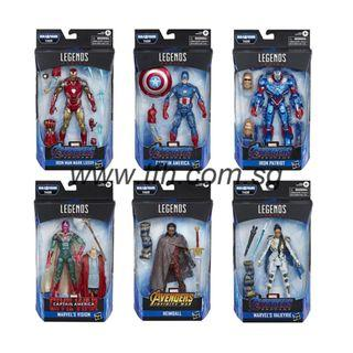 [PRE ORDER] Marvel Legends Series - Avengers: Endgame Series 3 - Set of 6