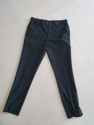 Topman Black Skinny Trousers size 32R