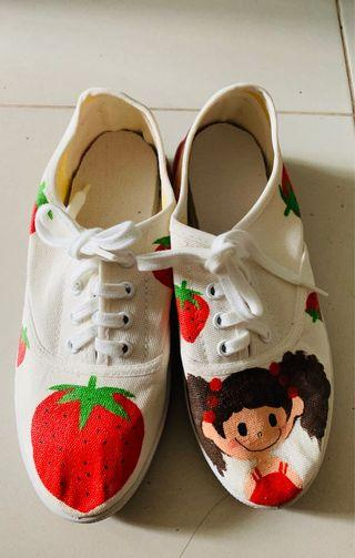 Handcrafted Cartoon Shoes 👟 From Taiwan #style