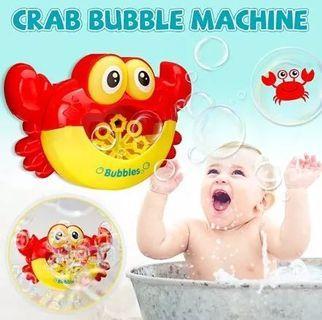 Crab Bubble Machine