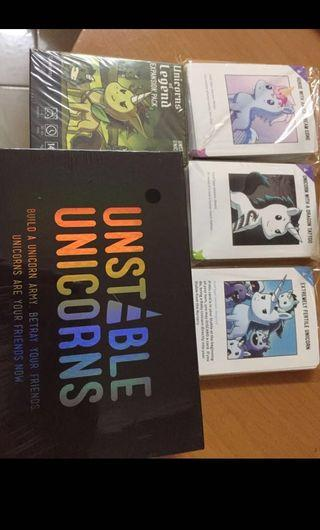 [Instock] Unstable Unicorn Expansions only