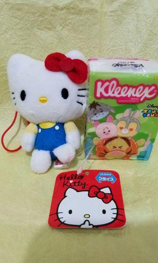 Sanrio Hello Kitty 全新 景品 毛公仔 包平郵