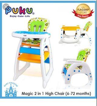 Puku high chair