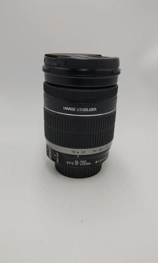 Canon 18-200mm IS over90%new