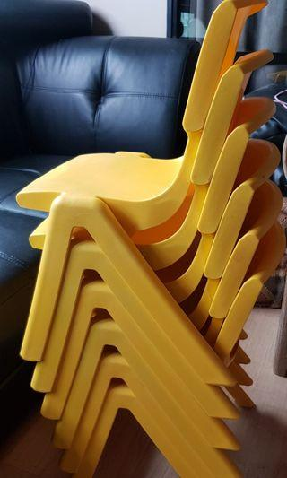 Bundle of 6 Chairs Excellent condition
