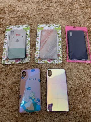 case iphone x/ xs (5pcs)