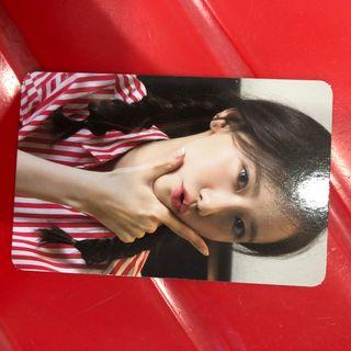 SNSD YOONA A WALK TO REMEMBER PHOTOCARD