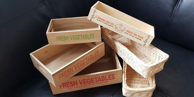 New! Wooden Crates PARTY Decor