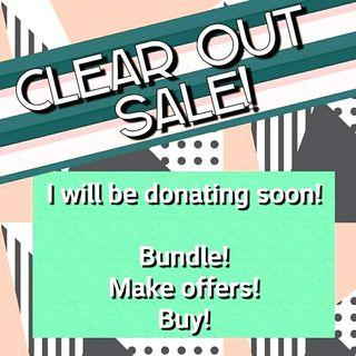 💕Everything must go ASAP  will be donating📦