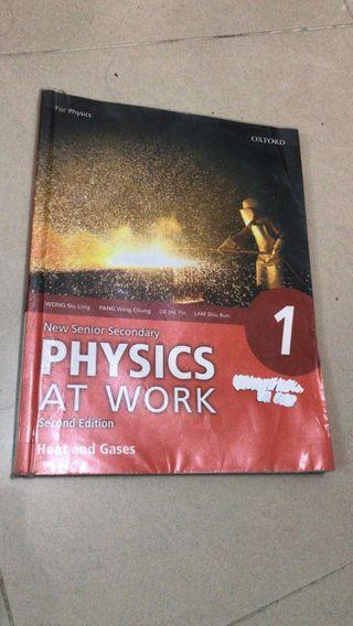 Physics at work book 1 heat and gases