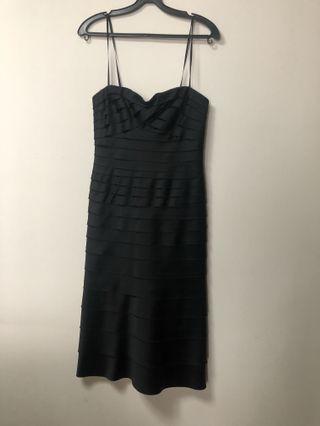 Black Tube Dress ( Silk)