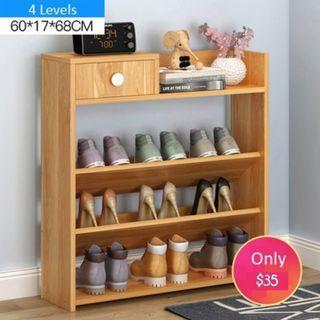 Shoe rack 4 levels