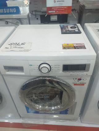 Mesin cuci Samsung Front Loading bisa credit.