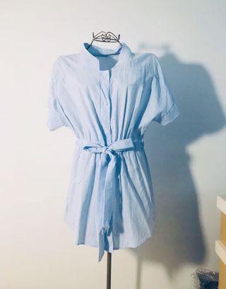 BN Baby Blue Drawstring 👗 Dress #style