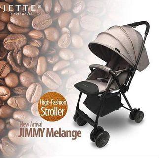 Stroller jette jimmy melange warna coffee
