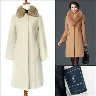 Japan Long Coat / Long wool coat / winter coat / spring coat / autumn coat / coat musim dingin / outerwear / coat korea / coat panjang / outer panjang / mantel / beige coat / coat wol